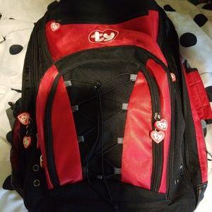 NWOT  TY laptop, expandable bacpack